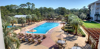 The Pool at Redfish Village on 30A